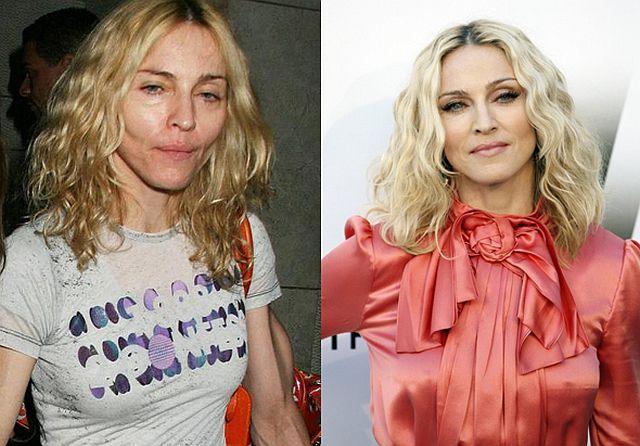 Фото женщин звезд без макияжа