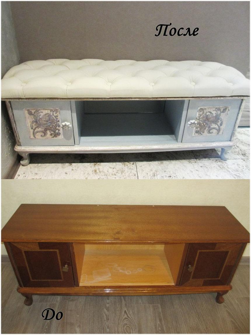Старая мебель вторая жизнь своими руками