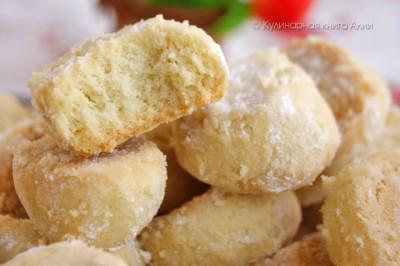 Печенье невероятно нежное, прям тает во рту!