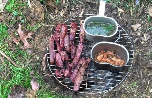 Лучший способ приготовить пищу на костре, от индейцев племени дакота. Совет года!!!