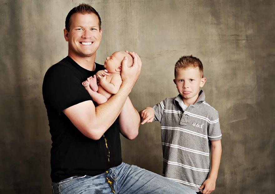 Эти детки, плевать хотели на вашу ″идеальную фотосессию.″ Давно я так не смеялась. Посмотрите, упасть можно! (18 фото)