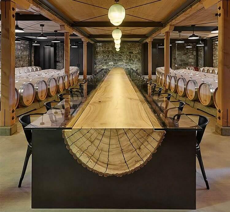 15 самых потрясающих столов, которые вам приходилось видеть