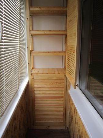 30 отличных идей как сделать шкафчики на балкон. Сохранить чтобы не потерять.