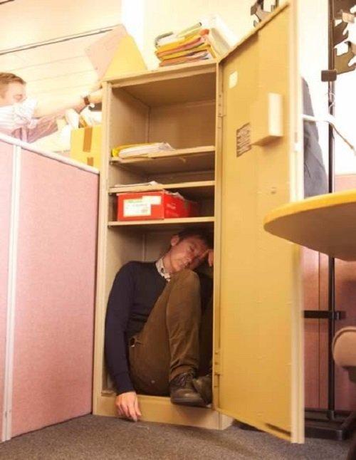 Смешные спящие люди (13 фото)