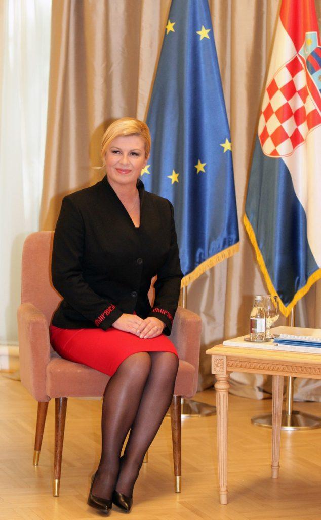 Самый прелестный Президент в мире! Шикарная Колинда Грабар-Китарович и ее элегантные наряды!