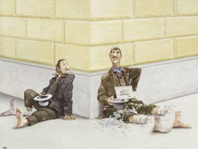15 злых иллюстраций, от которых становится стыдно за нас всех