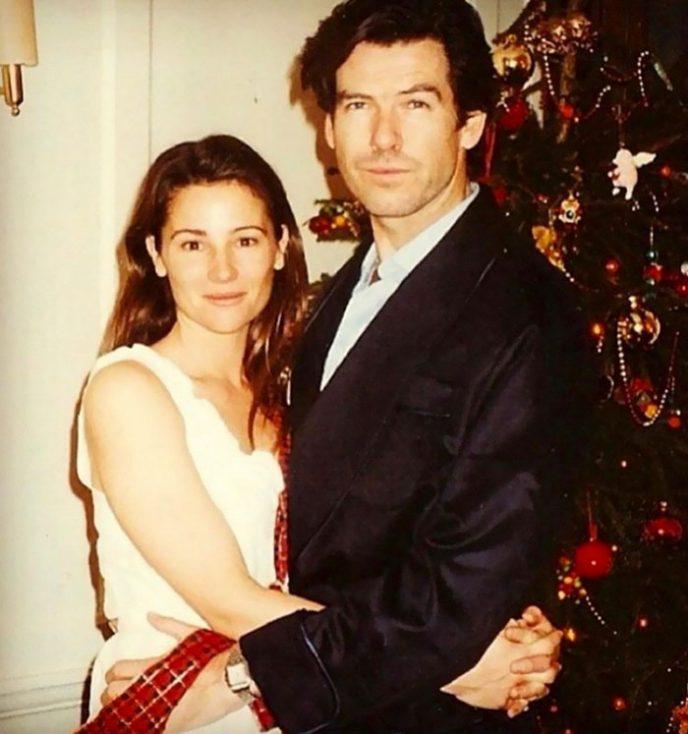 25 лет вместе: Вот как выглядела полная жена Пирса Броснана в молодости