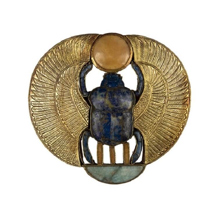 30 фотографий вещей, которые были найдены учёными в гробнице фараона Тутанхамона