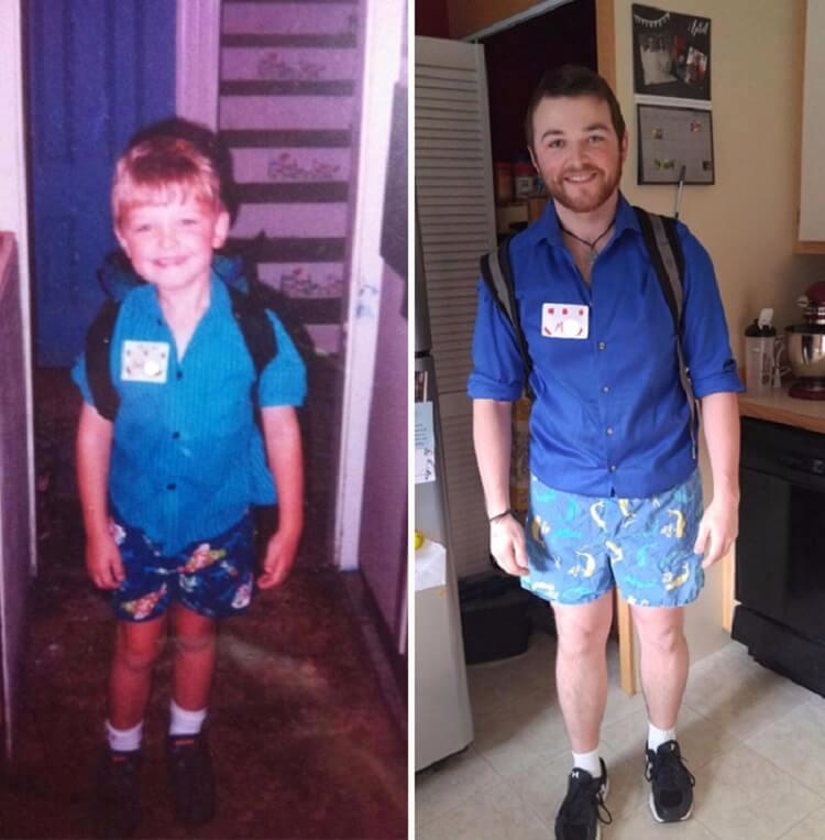 10 фотографий первого и последнего дня в школе