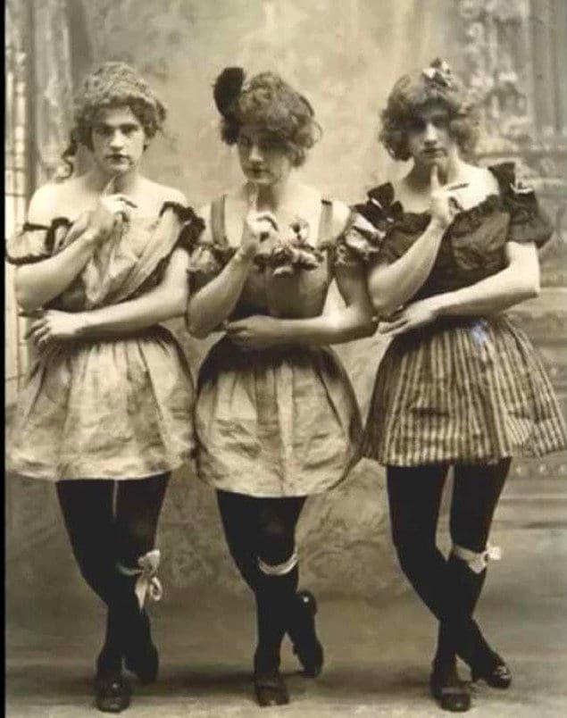 Не так страшна Викторианская эпоха, как её малюют: хулиганские и развесёлые позы англичан на фотографиях