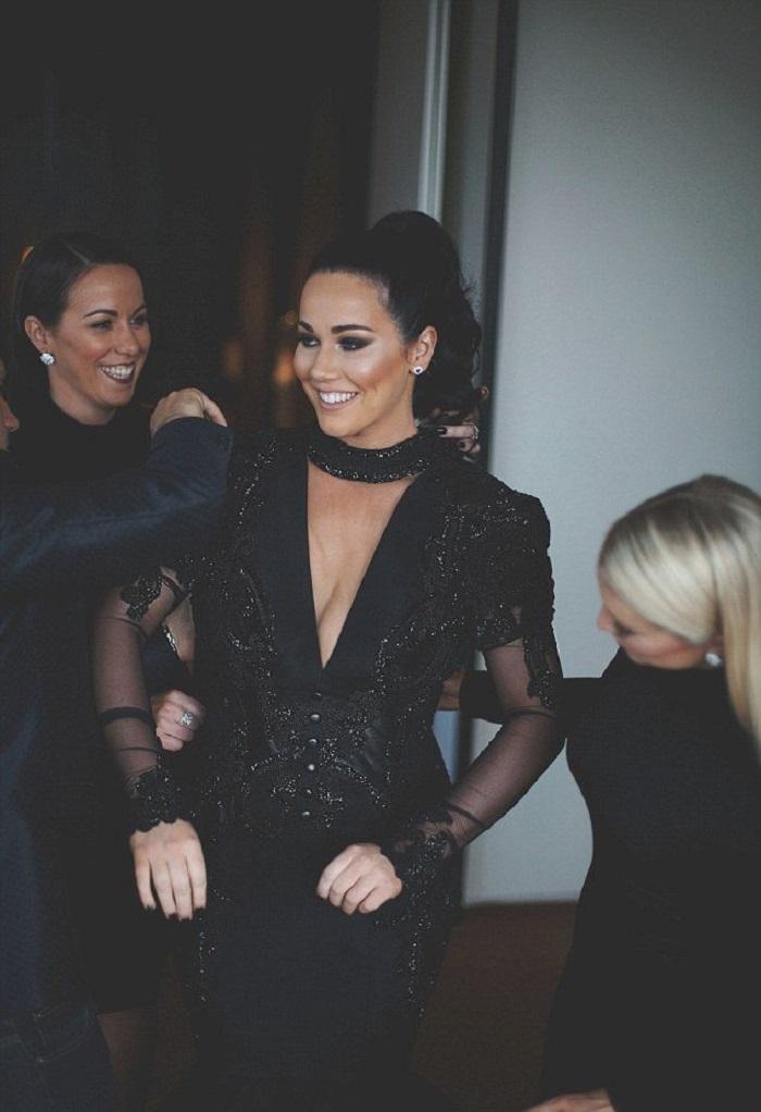 Невеста выбрала черный свадебный наряд и поразила всех гостей