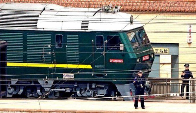 Как выглядит внутри бронепоезд вождя Северной Кореи?